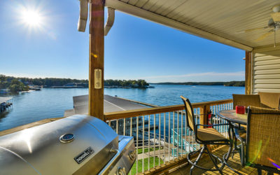 FIRST CLASS UPGRADE – Ledges Point Walk-In w/ MainChannel View, Wi-Fi, Boat Dock