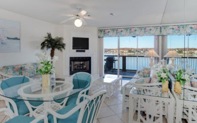 FREE NIGHT! Ledges Point w/ Awesome Main Channel View! Beach, Dock, Pools, Wi-Fi