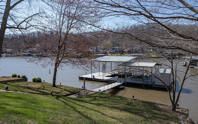 Live the Lake Life!!! Spacious Lakefront Home with Boat Dock at the 38MM!
